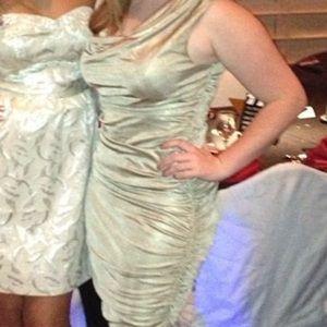 Gold Semiformal Dress